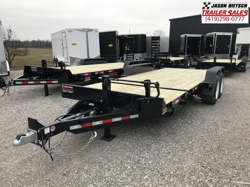 2019 Behnke 83X20 16K TILT Equipment Trailer....STOCK# BB-047895