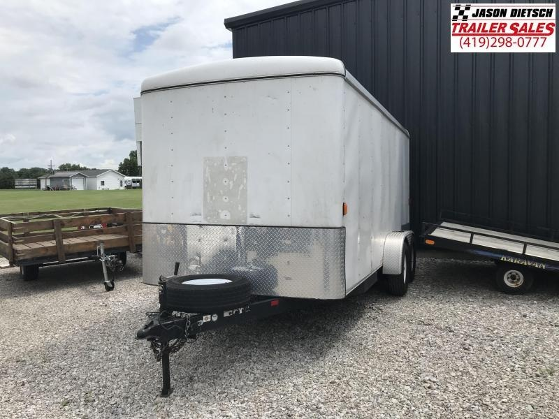 2007 7X14 CARRY UTILITY Enclosed Cargo Trailer