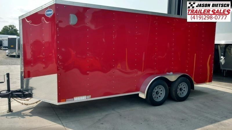 2020 United Trailers XLV 7x14 V-Nose Enclosed Cargo Trailer....Stock# UN-166146