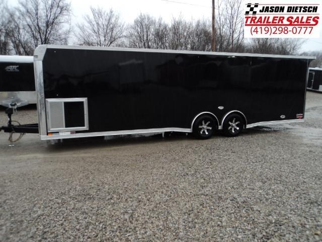 2018 United Trailer GEN 4- 8.5x28 Extra Height Enclosed Race Trailer....Stock#UN-160457