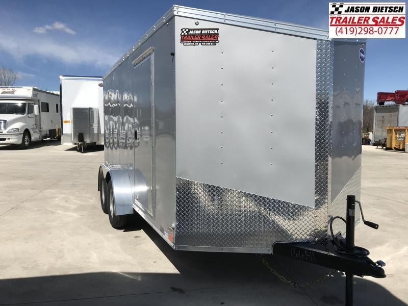 2019 United Trailers XLV 7x14 V-Nose Enclosed Cargo Trailer....Stock# UN-166141