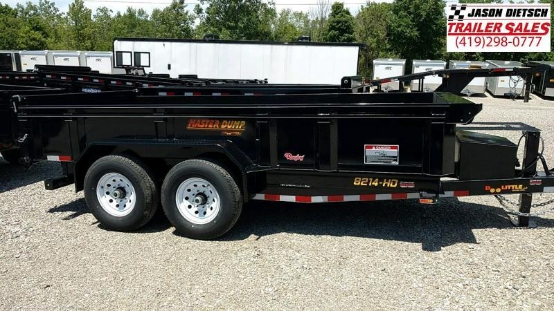 2018 Doolittle Trailer Mfg 82x14 Dump Trailer.... STOCK# DL-032969