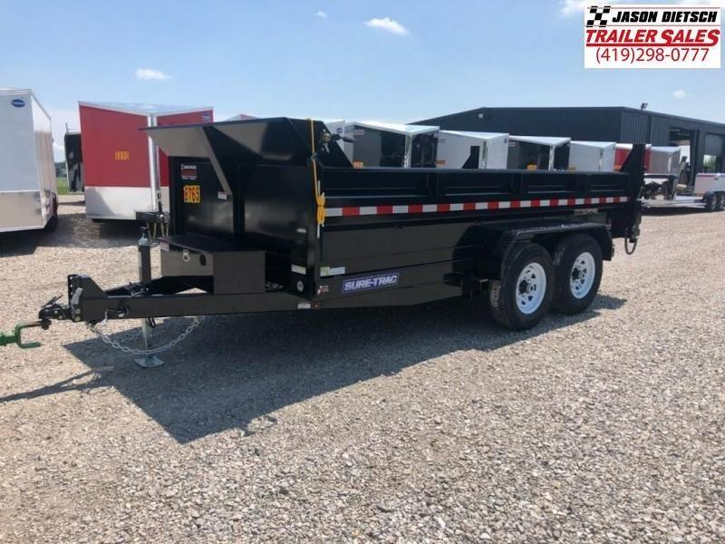 2019 Sure-Trac 82X14 LOW PRO Scissor Dump.... STOCK# ST-247045