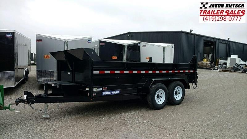 2018 Sure-Trac 82X14 LOW PRO Scissor Dump.... STOCK# ST-240047