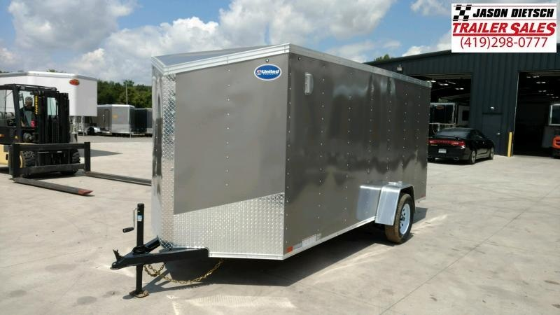 2020 United Trailers XLV 6X14 Enclosed Cargo Trailer....STOCK UN-169816
