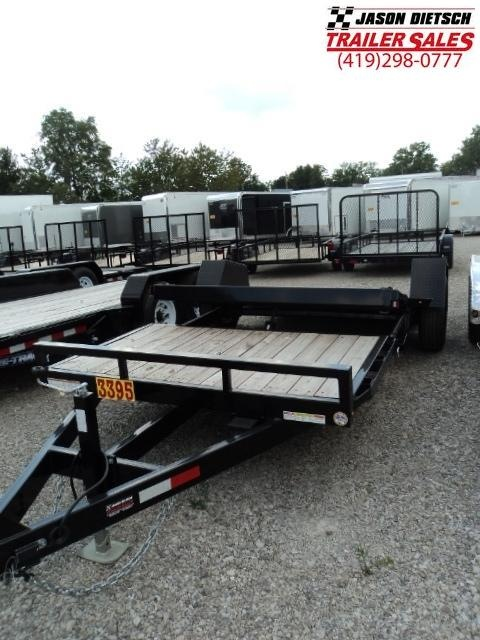 2017 Sure-Trac st78X12+4 TILT Equipment Trailer STOCK- 8404