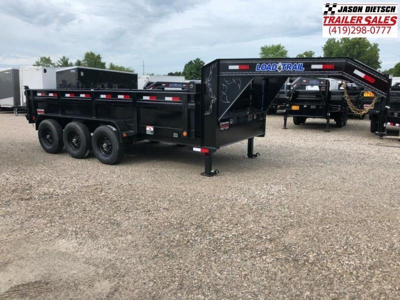 2019 Load Trail 83X16 Triple Axle Gooseneck Dump Dump Trailer....STOCK# LT-172262