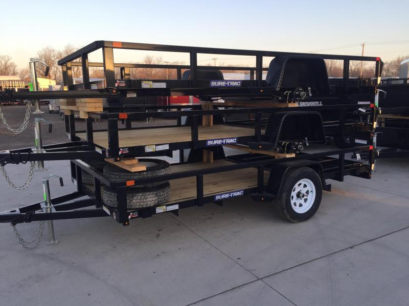 2018 Sure Trac 6x12 Utility Trailer....Stock# ST-237871