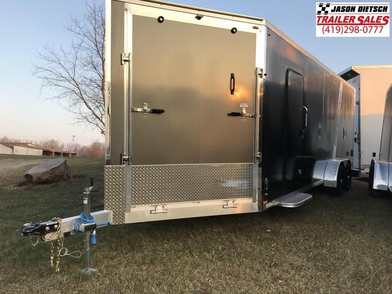 2019 Legend Manufacturing 7X27 EXPLORER EXTRA HEIGHT Snowmobile Trailer....STOCK LG-317359