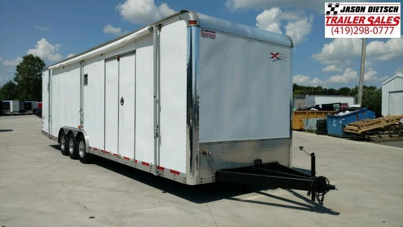 2001 United Trailers 8.5X32 Car / Racing Trailer....STOCK UN-7774