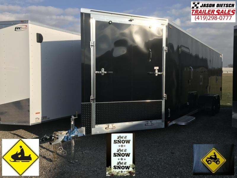 2019 Legend Manufacturing 7X29 EXPLORER EXTRA HEIGHT Snowmobile Trailer....STOCK LG-317340