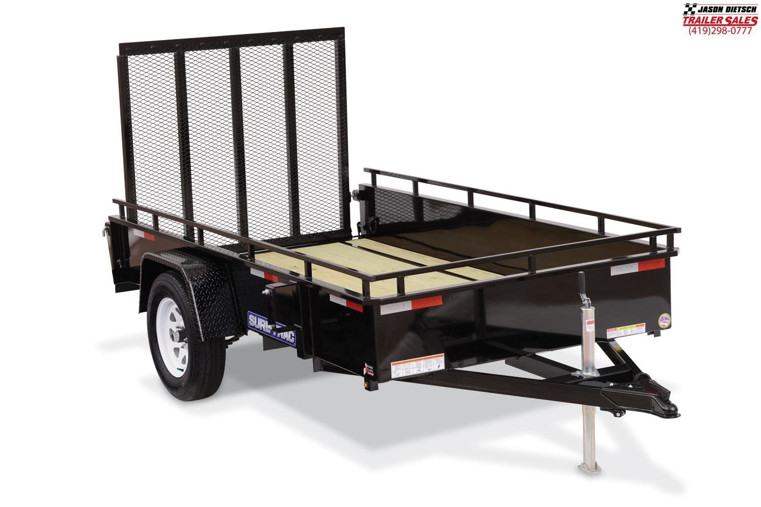 2019 Sure-Trac 6x12 Steel High Side....STOCK# ST-259856