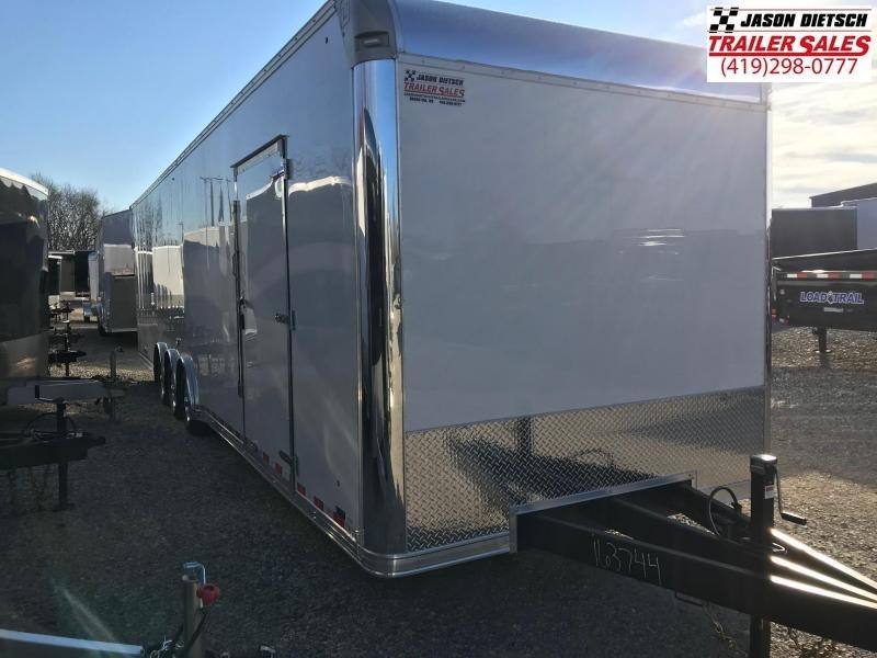 2019 United Trailer UXT 8.5x34 Enclosed Extra Height Carhauler....Stock#UN-163744