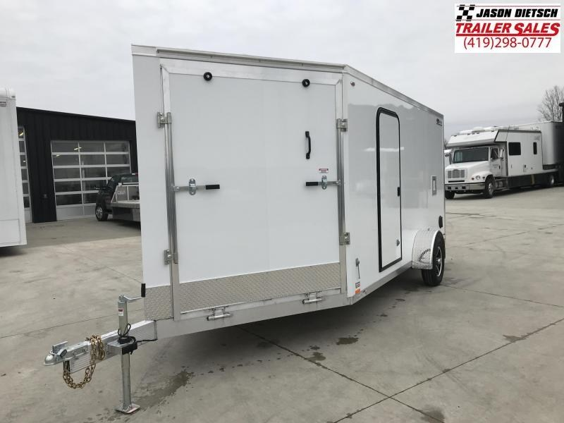 2019 Legend Manufacturing 7X19 THUNDER Snowmobile Trailer....STOCK LG-1317360