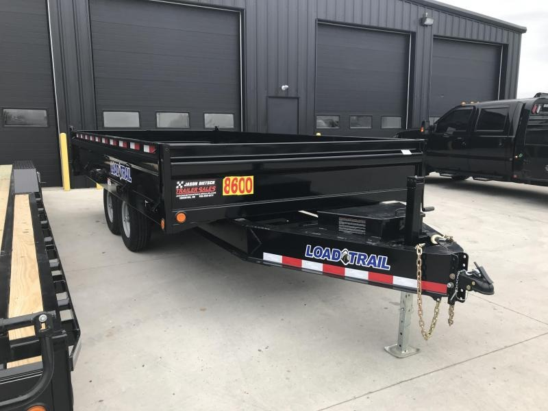 2019 Load Trail 96X16 Tandem Axle Dump Trailer....STOCK# LT-187416
