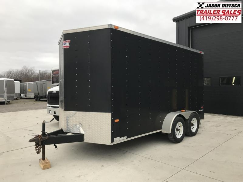 2008 American Hauler Industries 7X14 Enclosed Cargo Trailer