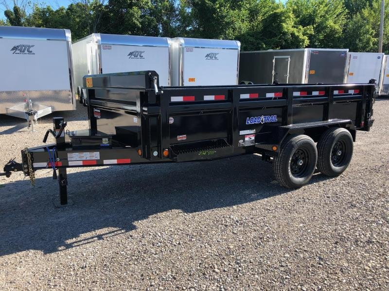 2018 Load Trail 83X14 Tandem Axle Dump Trailer....STOCK# LT-169982