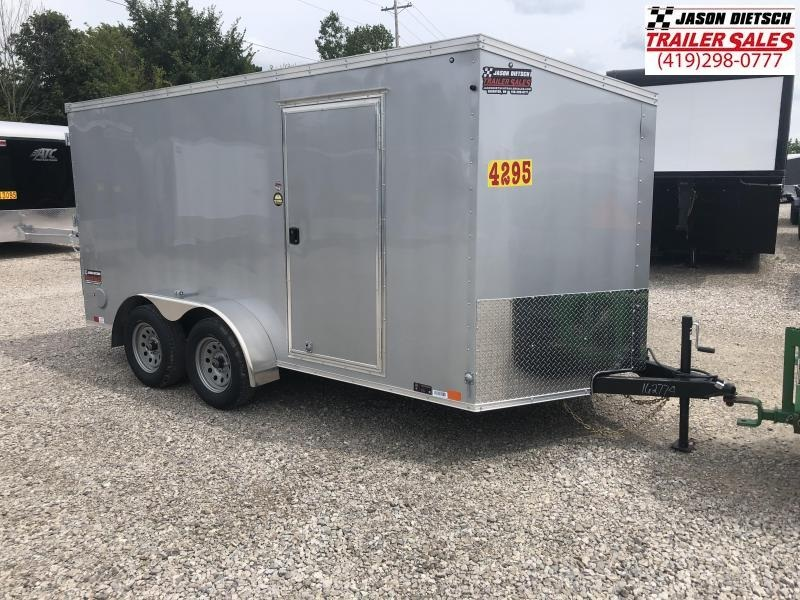 2019 United Trailers XLV 7x14 V-Nose Enclosed Cargo Trailer....Stock# UN-162774