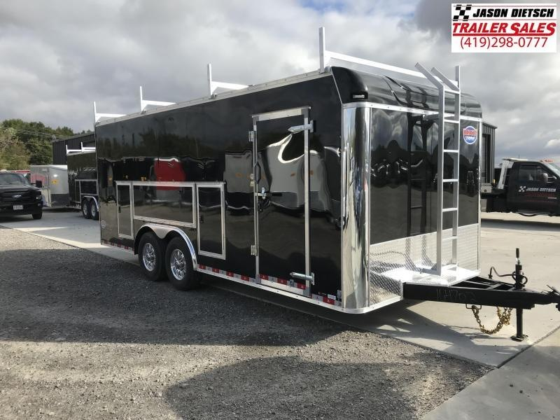2019 United Trailer UXT 8.5x20 Enclosed Tool Crib Trailer....Stock#UN-164702