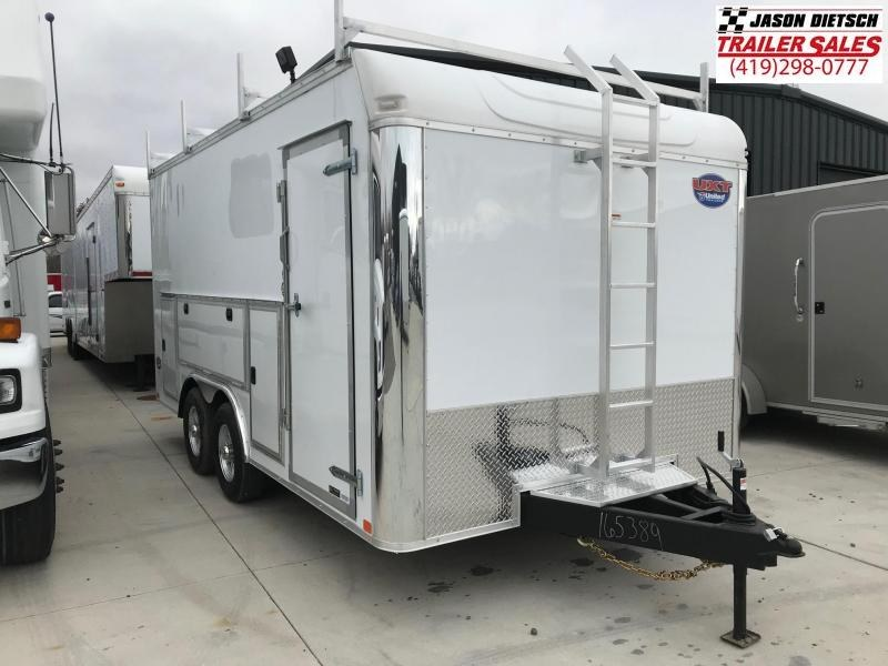 2019 United Trailers UXT 8.5x16 Enclosed Tool Crib Trailer....Stock # UN-165389