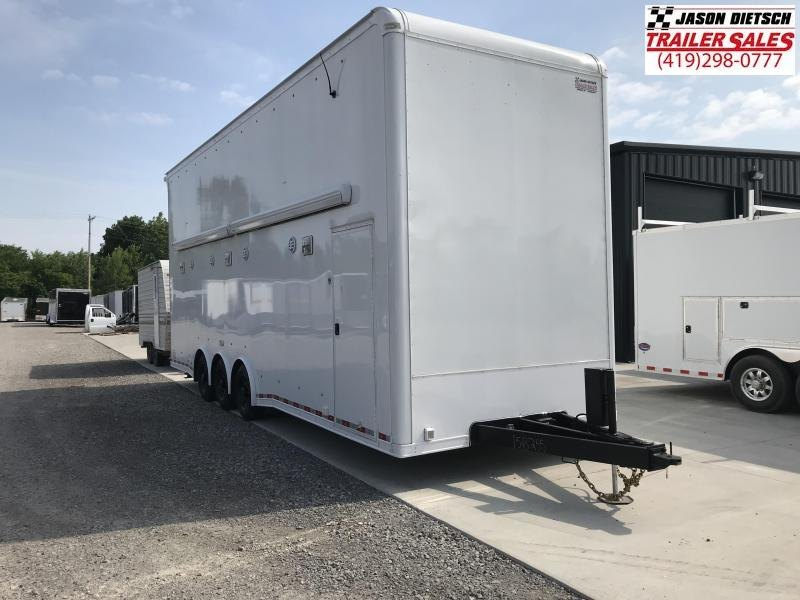 2018 United Trailers USH 8.5X28 Car / Racing Trailer.... Stock# UN-158255