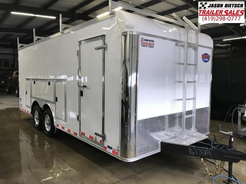 2019 United Trailer UXT 8.5x20 Enclosed Tool Crib Trailer....Stock#UN-167329
