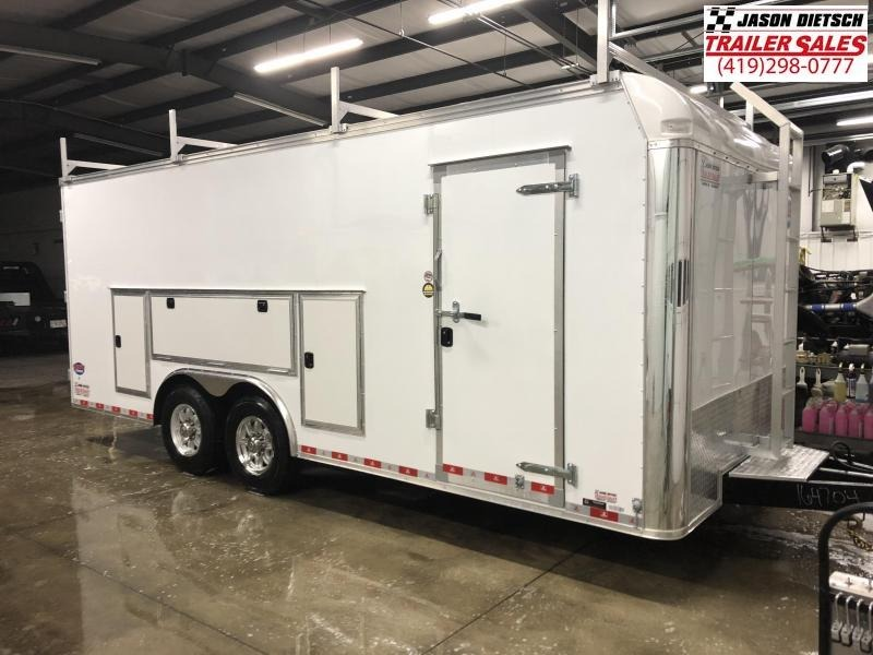 2019 United Trailer UXT 8.5x20 Enclosed Tool Crib Trailer....Stock#UN-164704