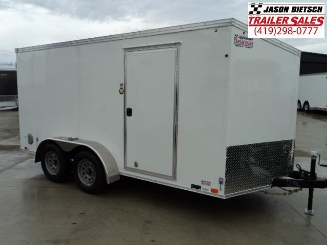 2018 United Trailers XLV 7x14 V-Nose Enclosed Cargo Trailer....Stock# UN-161396