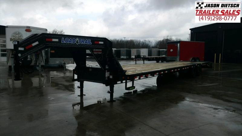 2020 Load Trail 102X40 Tandem Low-pro Gooseneck Equipment Trailer....STOCK# LT-205939