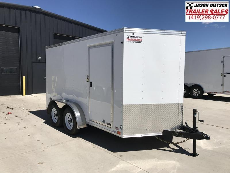 2020 United Trailers XLV 7x12 V-Nose Enclosed Cargo Trailer....Stock# UN-168016
