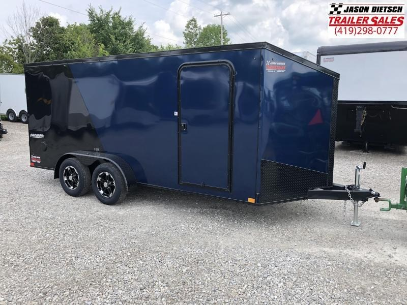 2019 Impact Trailers 7x16 Enclosed Cargo Trailer....IMP000947