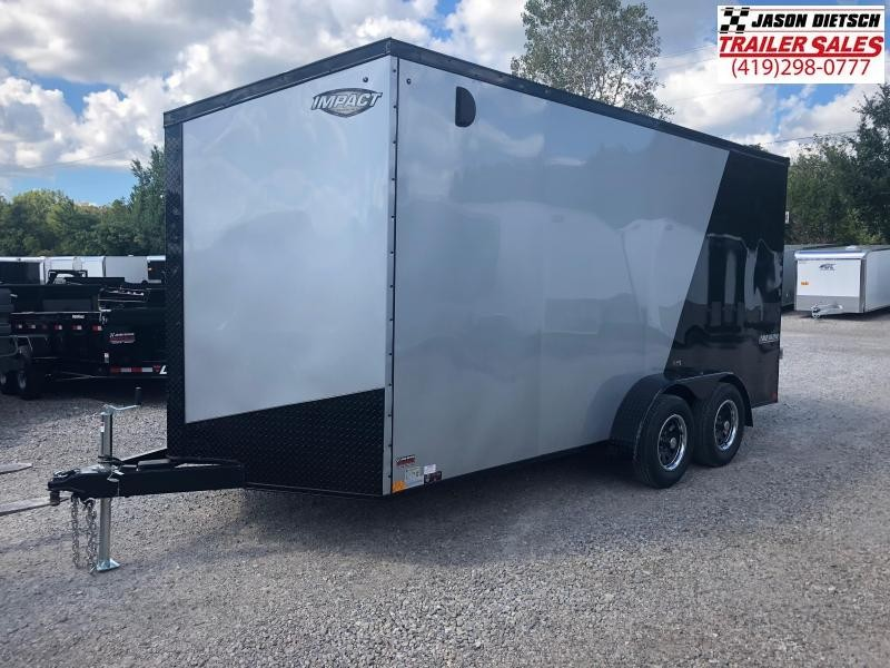 2019 Impact Trailers 7x16 EXTRA HEIGHT Enclosed Cargo Trailer....IMP001251