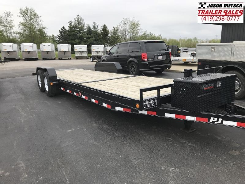 2016 PJ Trailers 24' Power Tilt Equipment Trailer