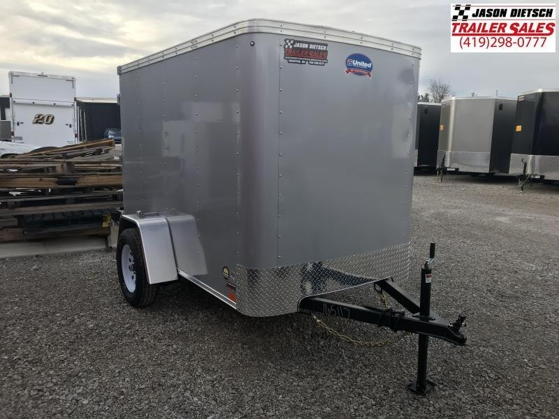 2019 United XLE 5X8 Enclosed Cargo Tr....Stock# UN-165117
