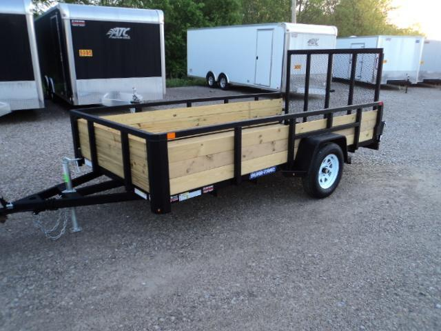 2018 Sure Trac 6x12 Tube Top Three Board Utility Trailer....Stock# ST-241753