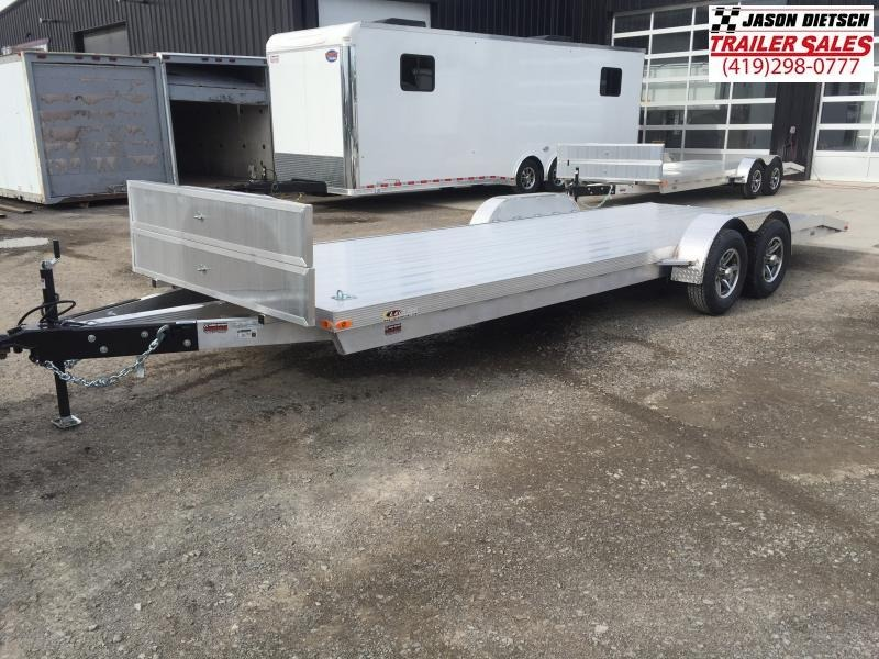 2017 Legend 7x20 All Aluminum Tandem Axle Carhauler....Stock#LG-7976