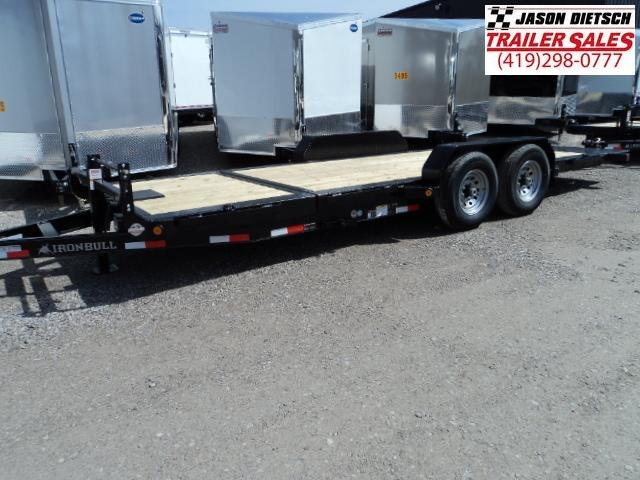 2018 Iron Bull 83X20 TILT LOW PRO Equipment Trailer STOCK- 020091