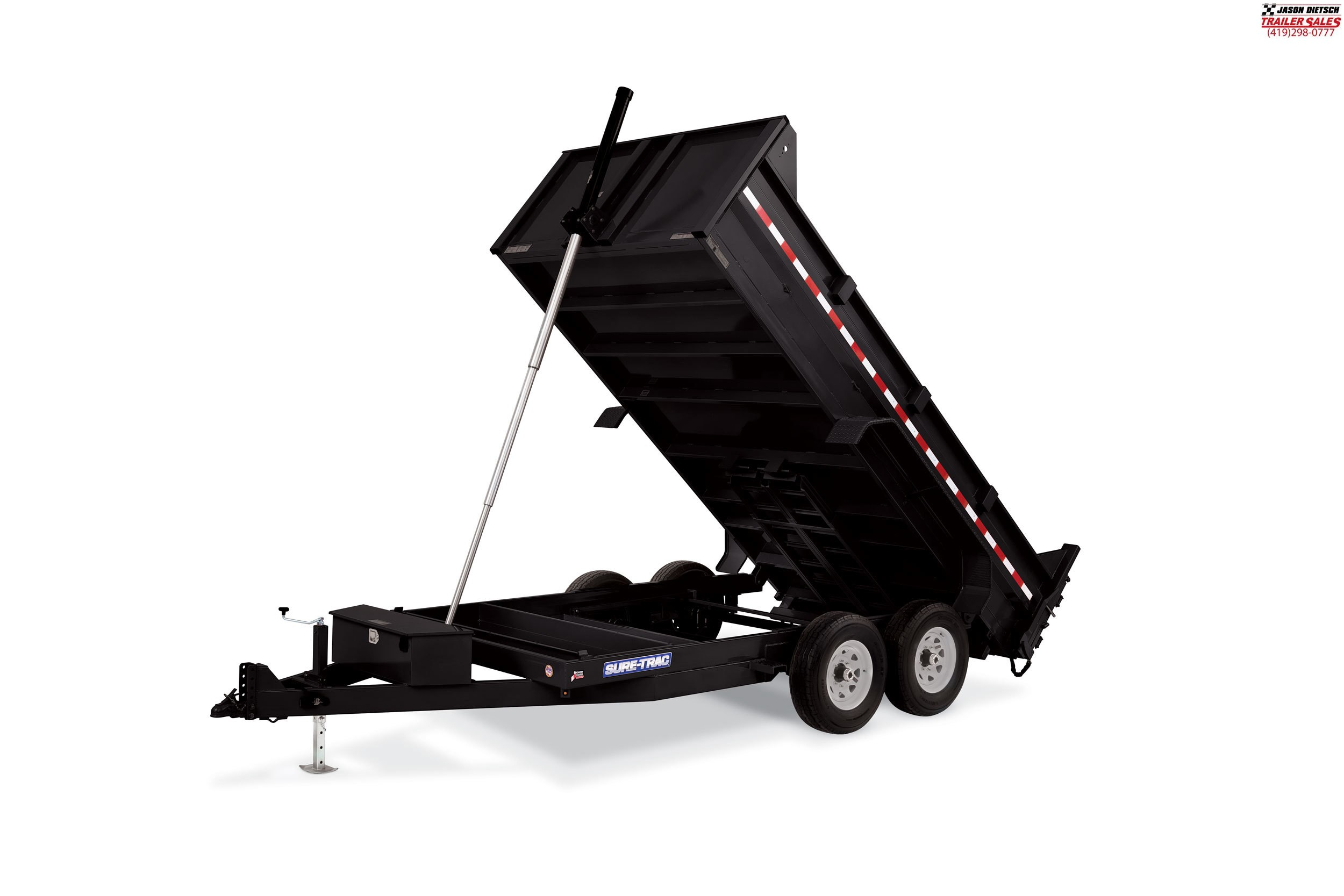 2019 Sure-Trac 82X14 LP 14K Telescopic Dump....STOCK# ST-0564