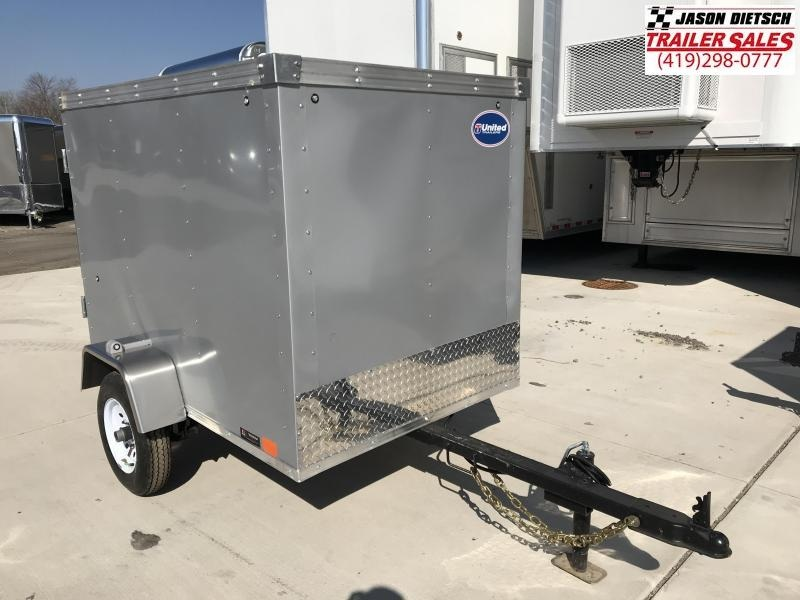 2019 United Trailers XLE 4X6 Enclosed Cargo Trailer....STOCK# UN-167398