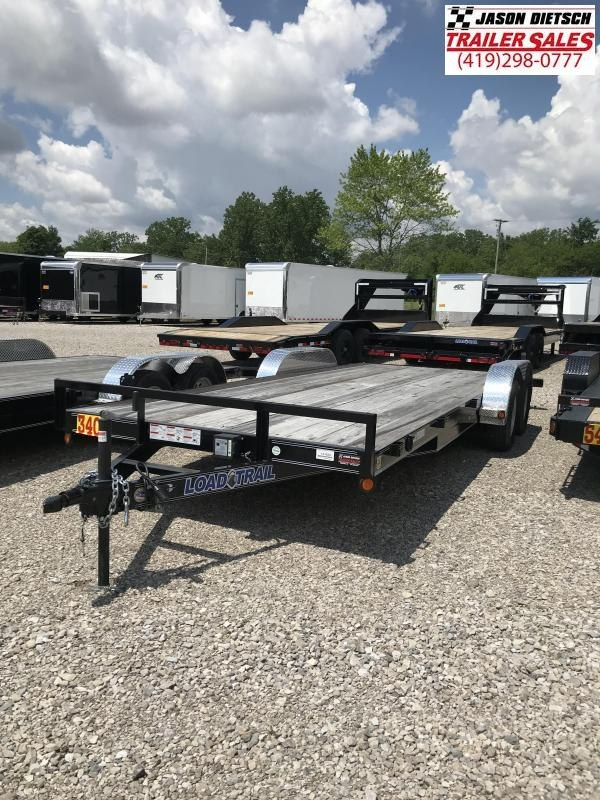 2018 Load Trail 83x20 Tandem Axle Carhauler....Stock#LT-41424