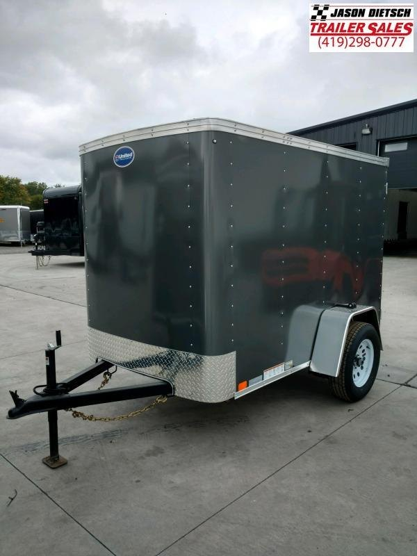 2020 United XLE 5X8 Enclosed Cargo TRAILER....Stock# UN-170240