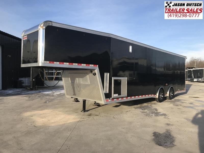 2017 United Trailers USHGN-8.5X36 TA70 Car / Racing Trailer