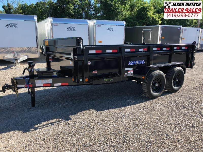 2018 Load Trail 83X14 Tandem Axle Dump Trailer....STOCK# LT-169984