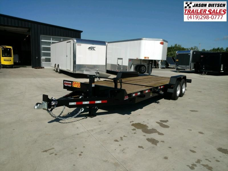 2020 Behnke 83X22 CHANNEL tilt TRAILER 16K....STOCK# BB-049822