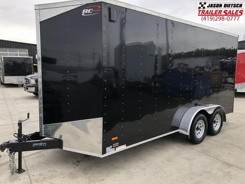 2019 RC Trailer 7x16 EXTRA HEIGHT....STOCK# RC-649843