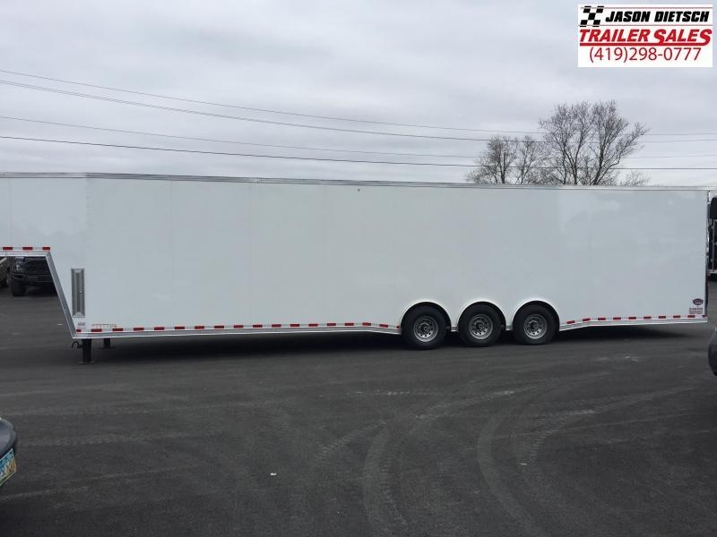 2018 United UXGH 8.5X44 Wide Body Gooseneck Triple Axle Flat Top....Stock# UN-161852