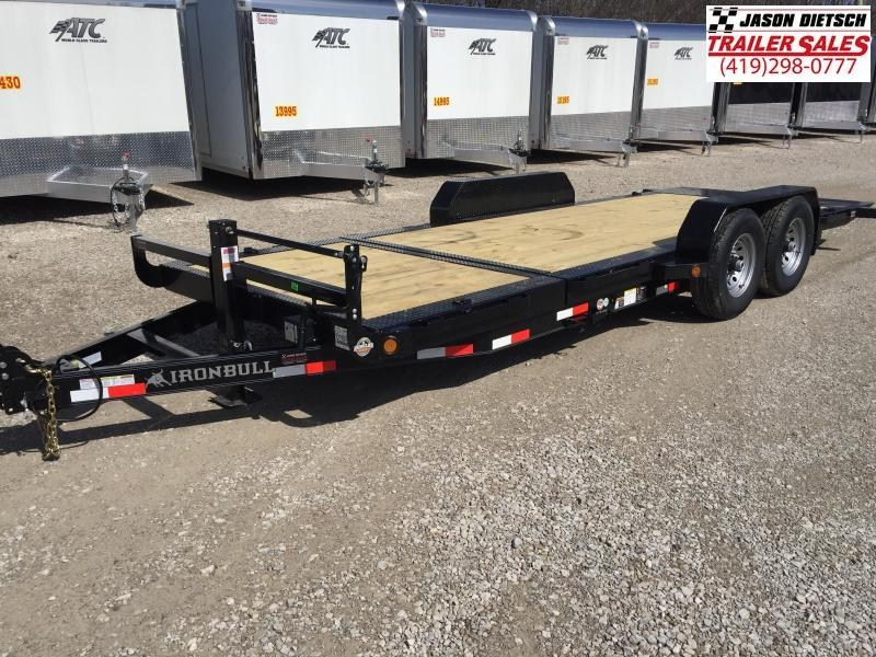 2017 Iron Bull 83X20 TILT Equipment Trailer STOCK- 018762