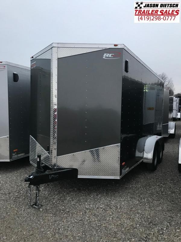 2019 RC Trailer 7x14 EXTRA HEIGHT....STOCK# RC-649852
