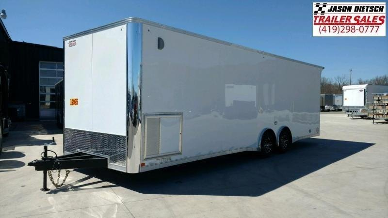 2019 United Trailers XLT 8.5X28 EXTRA HEIGHT Car / Racing Trailer....STOCK# UN-166441