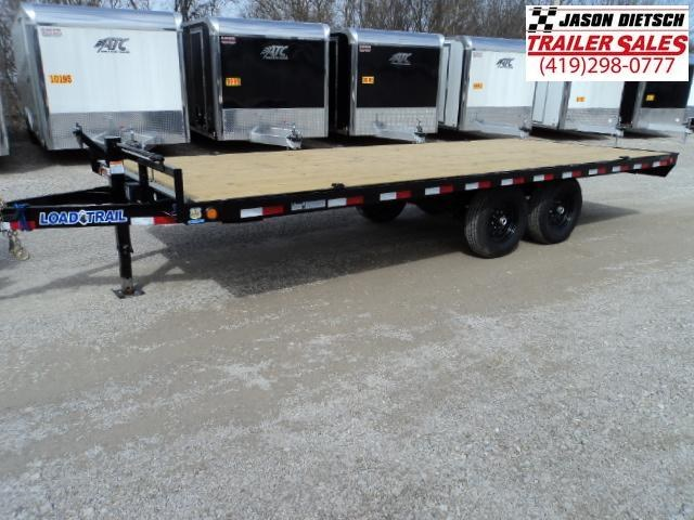 2018 Load Trail 102X20 Deck Over Pintle Hook Trailer... STOCK# LT-161200